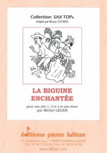 OEUVRE LA BIGUINE ENCHANTÉE (QUATUOR)