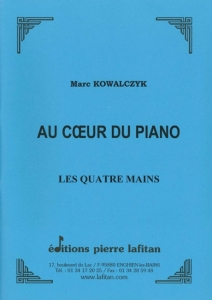 RECUEIL AU COEUR DU PIANO, VOLUME QUATRE MAINS