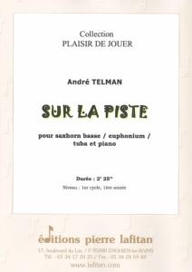 PARTITION SUR LA PISTE (SAXHORN BASSE)