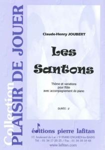 PARTITION LES SANTONS