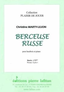 PARTITION BERCEUSE RUSSE (HAUTBOIS)