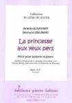 PARTITION LA PRINCESSE AUX YEUX PERS