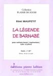 PARTITION LA LÉGENDE DE BARNABÉ