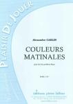PARTITION COULEURS MATINALES (COR)