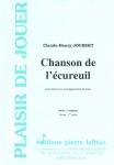 PARTITION CHANSON DE L´ÉCUREUIL