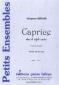 PARTITION CAPRICE DANS LE STYLE ANCIEN