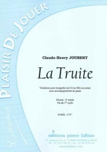 PARTITION LA TRUITE (TROMPETTE)