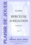 PARTITION BERCEUSE ET RIGAUDON