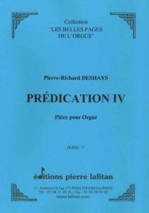PARTITION PRÉDICATION IV