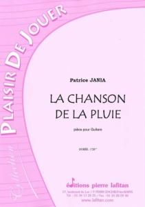 PARTITION LA CHANSON DE LA PLUIE