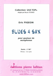 OEUVRE BLUES 4 SAX