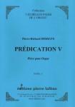 PARTITION PRÉDICATION V