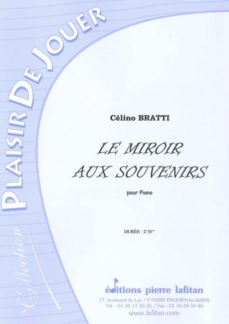 Partition le miroir aux souvenirs piano piano for Le miroir aux espions