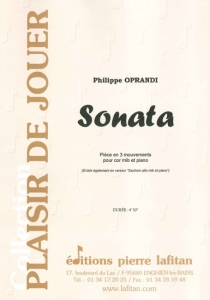 PARTITION SONATA (COR MIB)