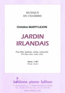 PARTITION JARDIN IRLANDAIS (QUATUOR)
