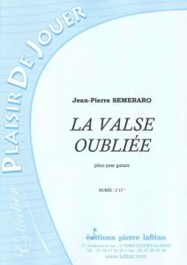 PARTITION LA VALSE OUBLIÉE