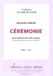 PARTITION CÉRÉMONIE (SAXHORN ALTO)
