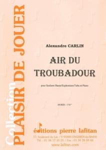 PARTITION AIR DU TROUBADOUR (SAXHORN BASSE)