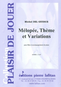PARTITION MÉLOPÉE, THEME ET VARIATIONS