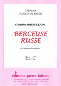 PARTITION BERCEUSE RUSSE (VIOLONCELLE)