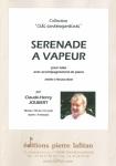 PARTITION SÉRÉNADE A VAPEUR