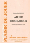 PARTITION AIR DU TROUBADOUR (SAXHORN BASSE)