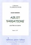 PARTITION AIR ET VARIATIONS