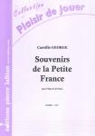 PARTITION SOUVENIRS DE LA PETITE FRANCE