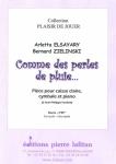 PARTITION COMME DES PERLES DE PLUIE...