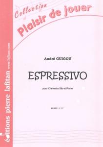PARTITION ESPRESSIVO (CLARINETTE)