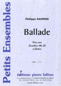 PARTITION BALLADE (SAX-GUITARE)