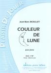PARTITION COULEUR DE LUNE