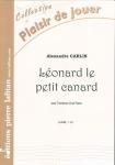 PARTITION LÉONARD LE PETIT CANARD