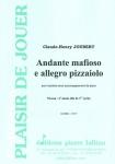 PARTITION ANDANTE MAFIOSO E ALLEGRO PIZZAIOLO