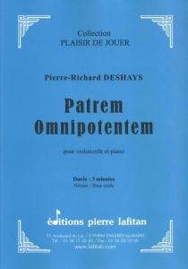 PARTITION PATREM OMNIPOTENTEM