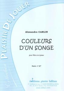 PARTITION COULEURS D´UN SONGE