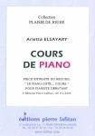 PARTITION COURS DE PIANO