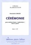 PARTITION CÉRÉMONIE (SAXHORN BASSE)