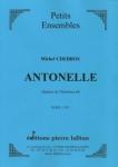 OEUVRE ANTONELLE (QUATUOR CLARINETTES)