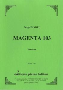 PARTITION MAGENTA 103