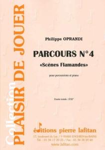 """PARTITION PARCOURS N° 4 """"Scènes flamandes"""""""