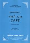 PARTITION THÉ OU CAFÉ