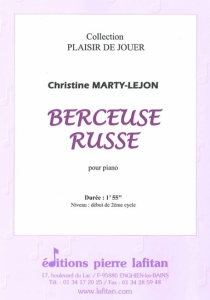 PARTITION BERCEUSE RUSSE (PIANO)