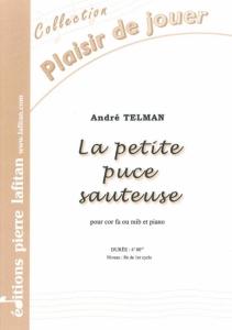 PARTITION LA PETITE PUCE SAUTEUSE (COR)