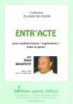 PARTITION ENTRACTE (SAXHORN BASSE)