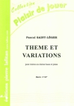 PARTITION THEME ET VARIATIONS (CLAIRON)