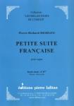 PARTITION PETITE SUITE FRANÇAISE
