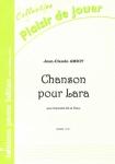 PARTITION CHANSON POUR LARA