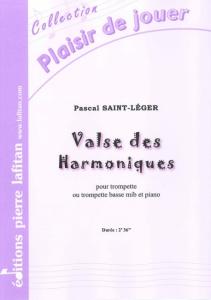 PARTITION VALSE DES HARMONIQUES (TROMPETTE MIB)