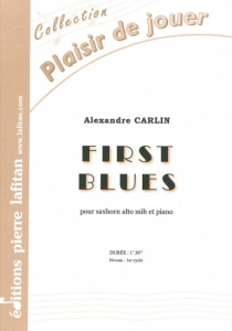 PARTITION FIRST BLUES (SAXHORN ALTO)
